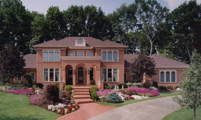 House Plans Italian Traditional More