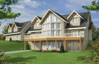 House Plans Lake Traditional Waterfront