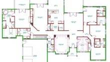 House Plans Make Elegant Homes Open Airy Floor