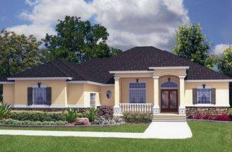 House Plans Mother Law Suites Single Story Home