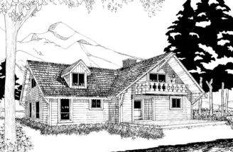 House Plans Mountain Home Vacation More