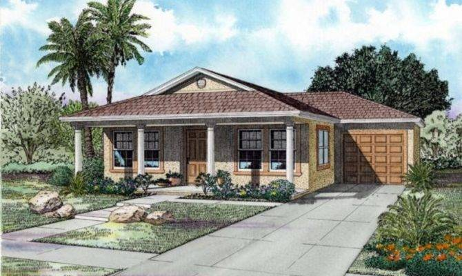 House Plans One Story Front Porch