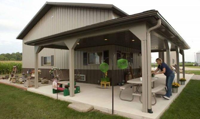 House Plans Pinterest Morton Building Cabin
