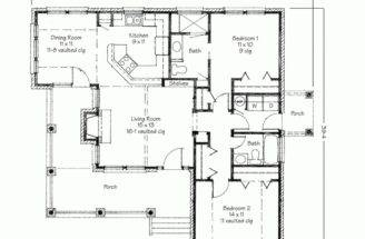 House Plans Porch Backyard Deck Floor Plan Design