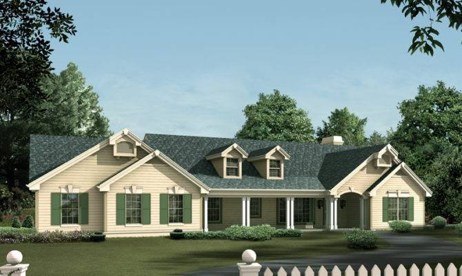 House Plans Ranch Colonial Country
