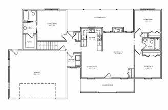 House Plans Ranch Home Floor Country