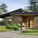 House Plans Small Contemporary Wooden Wall