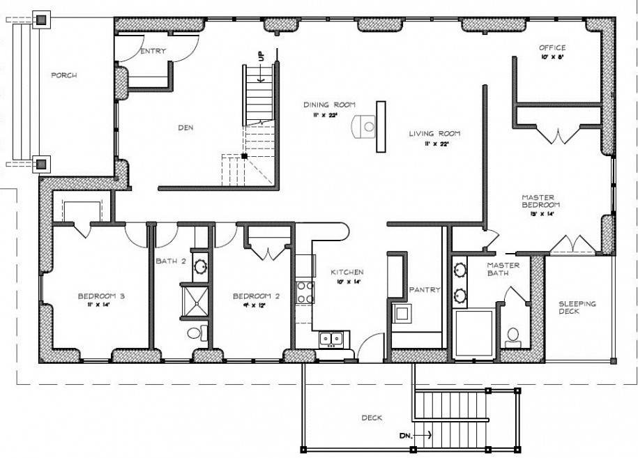House with porch plans