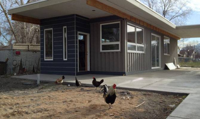 House Project Transforms Shipping Containers Into Affordable Homes