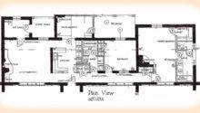 House Spacious Floor Two Bedroom Plans Modern Design