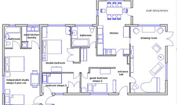 House Totally Independant Surrounded Enclosed Garden   Home Building Plans     31373. House Totally Independant Surrounded Enclosed Garden   Home