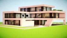 House Very Modern Made Snowblocks Coalblocks Black