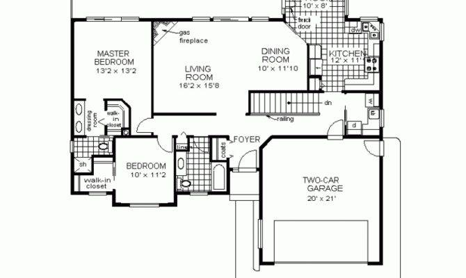 Houses Floor Simple Ranch House Plans Home Plan Designs