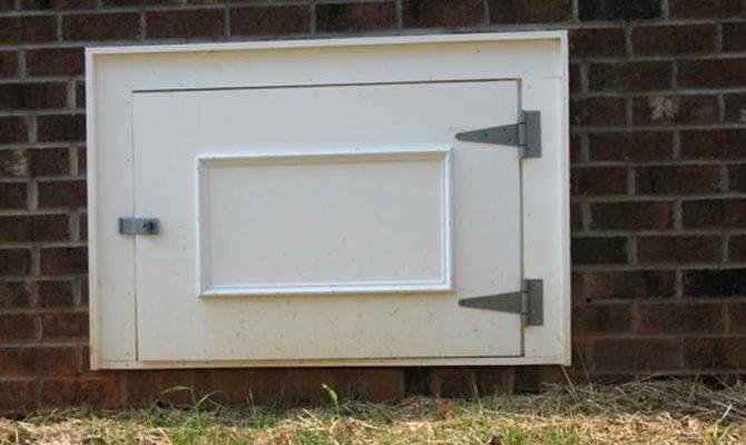 Ideas Great Crawl Space Doors