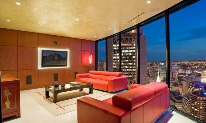 Ideas Luxury Apartment Living Room Modern Interior Design