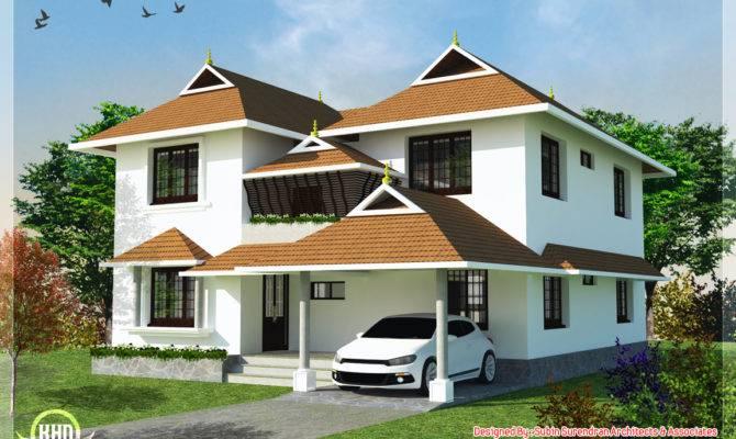 Impressive Traditional Kerala Home Designs