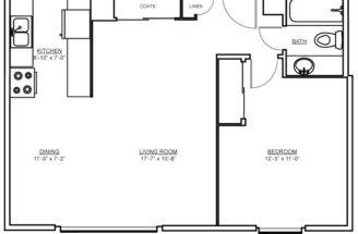 Independent Living Spaces Floorplans Seattle Horizon House