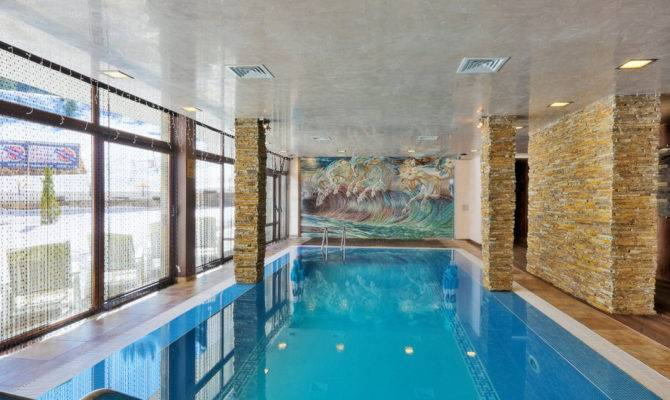 Indoor Swimming Pool Home Plans Pools