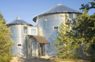 Inexpensive Home Using Grain Silos Idesignarch Interior Design