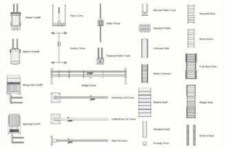 Interior Design Storage Distribution Element