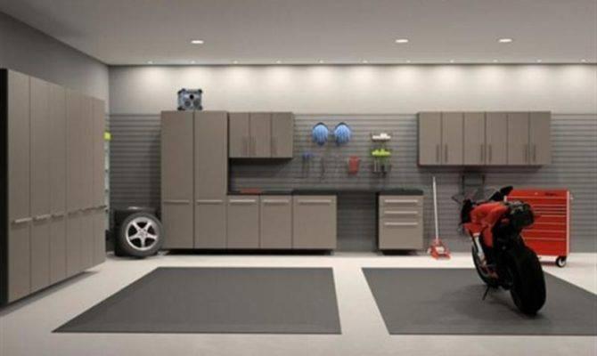 Interior Garage Designs Modern Storage Cabinet Design Ideas