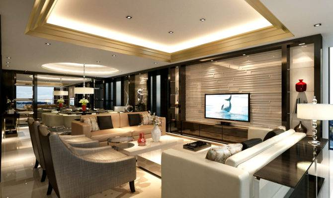 Interior Luxury Apartment Alaska Garden