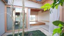 Japanese Courtyard House Mitsutomo Matsunami Small Bliss
