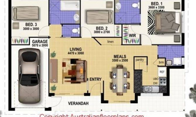 Joey Bedroom Low Set Home Storey House Plans Custom