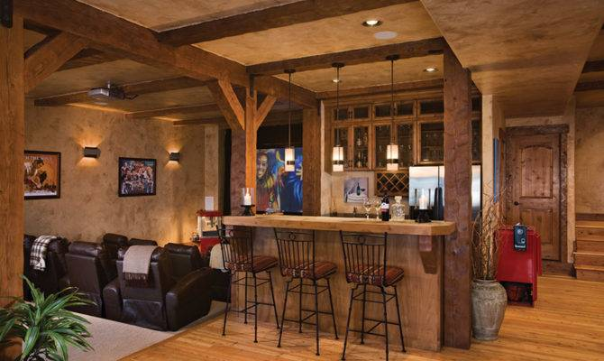 Kansas City Basement Bar Remodel Interior Design
