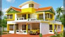 Kerala Duplex House Elevation