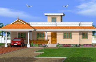 Kerala Home Design Low Cost Bedroom Single Floor
