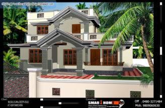 Kerala Home Plan Elevation Appliance