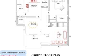 Kerala Home Plan Elevation Design
