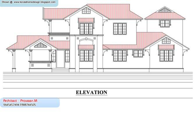 Kerala Home Plan Elevation Homes