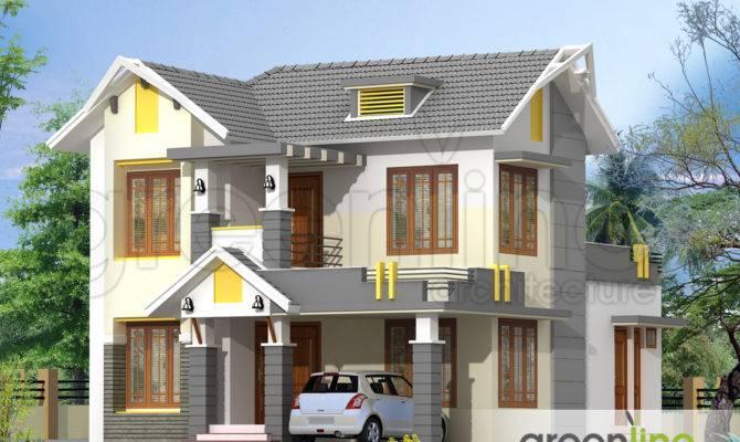 Kerala House Model Elevations