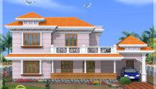 Kerala Model House Design Green Homes Thiruvalla