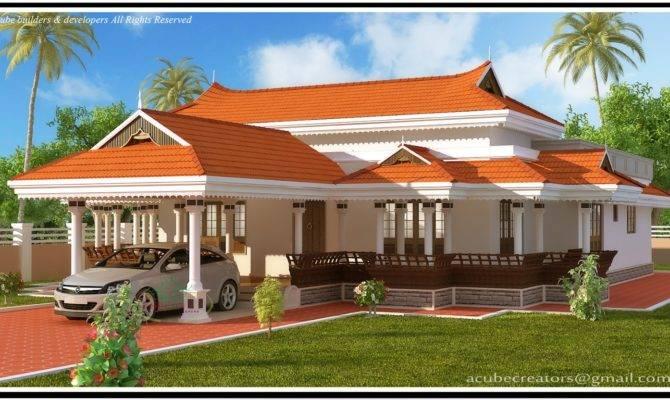 Kerala Model House Plan Acube Builders