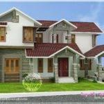 Kerala Sloping Roof House Modern Interior Designs