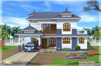 Kerala Style House Home Design Floor Plans