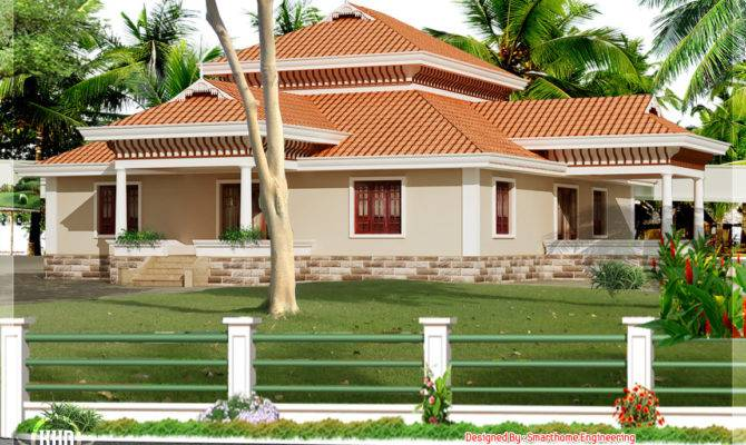 Kerala Style Single Storey House Home Design Floor Plans