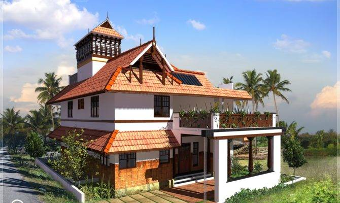 Kerala Traditional Home Square Feet Design