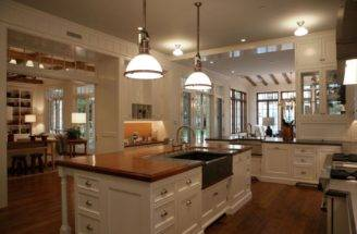 Kitchens Large Country Industrial Pendant Double Dishwashers Kitchen
