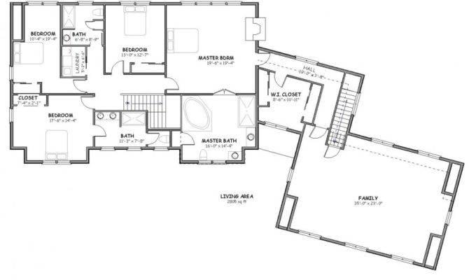 Large Cape Cod House Plans Pinterest