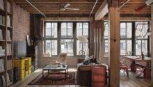 Let Stay Cool Industrial Loft Design