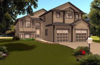 Level House Plans Garage Designs