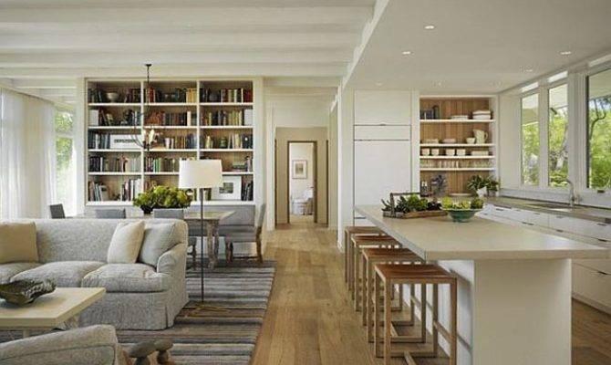 Like Open Plan Living Room Design