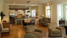 Living Room Open Design Case Well
