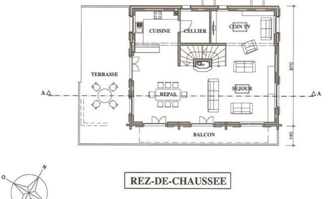 Located Alpine Hamlet Les Crosets Chalet Clare Floor Plan