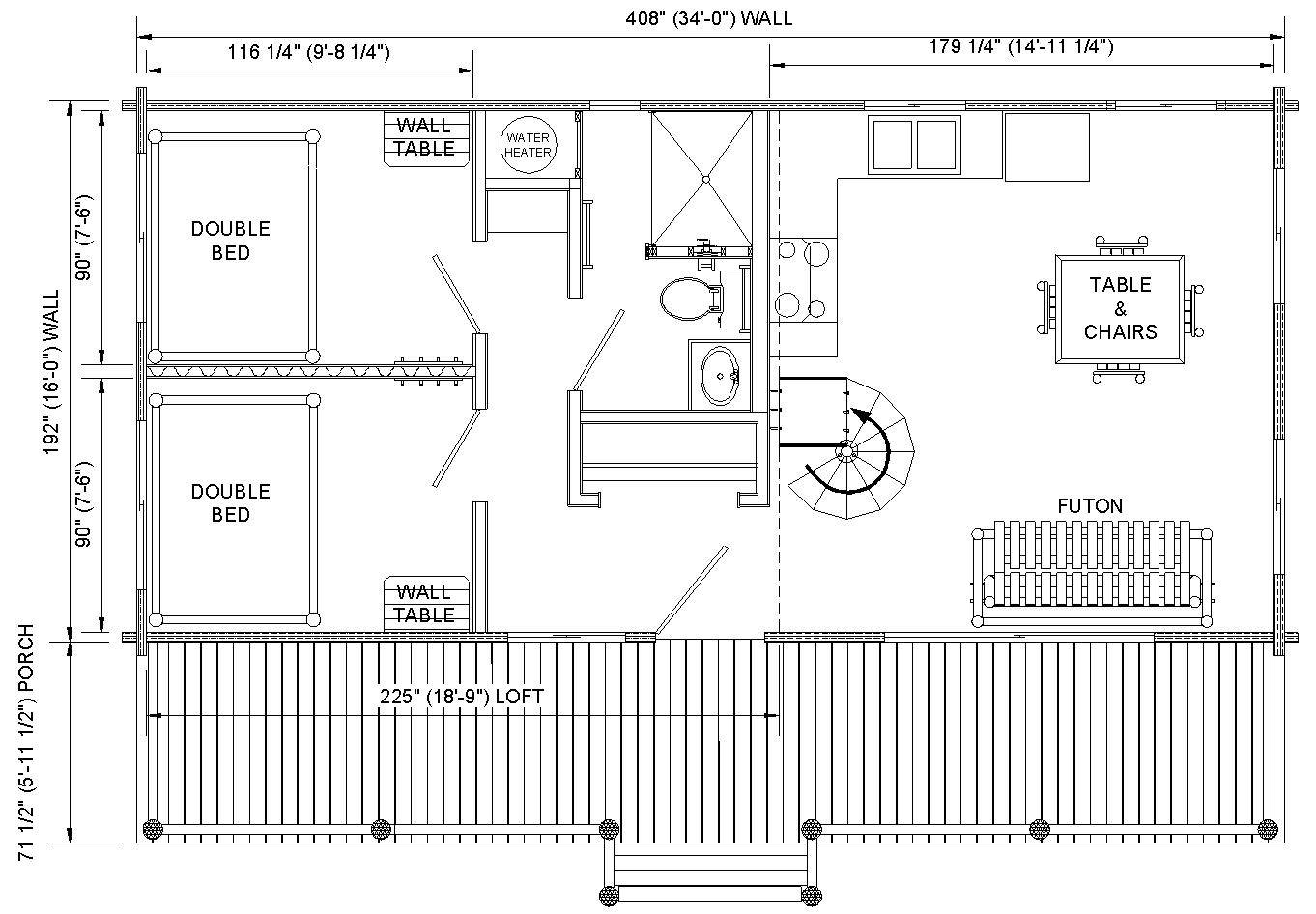 small cabin floor plan by max fulbright designs log cabin floor log cabin floor plan loft