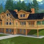 Log Cabin House Plan Alp Chatham Design Group Plans